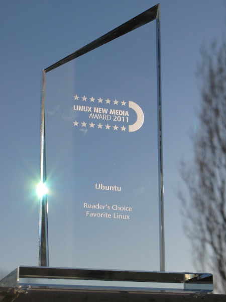 Linux Media Award 2011 - Ubuntu - Reader's Choice Favorite Linux