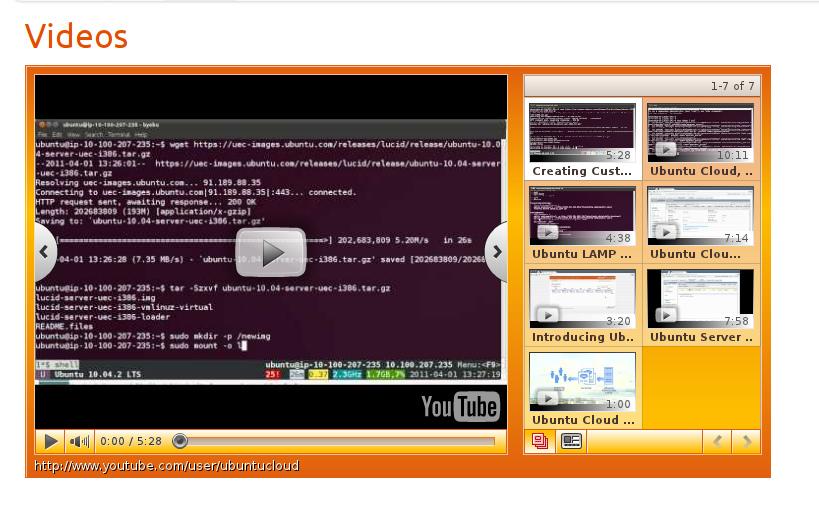 Ubuntu Fridge | Ubuntu Cloud Portal Introduction